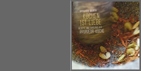 Gestaltung Ayurveda-Kochbuch Dr. Barbara Wirth