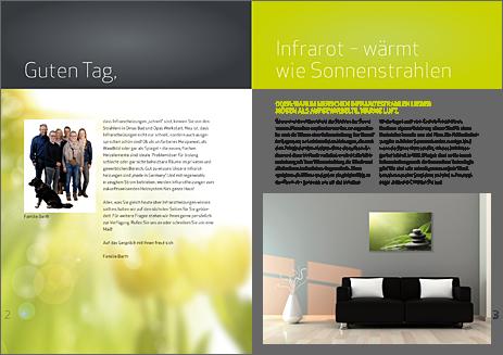 Imagebroschüre Barth Infrarotheizgeräte GmbH