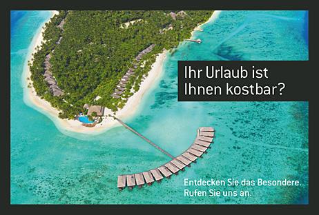 Postkarte Carus Reisen