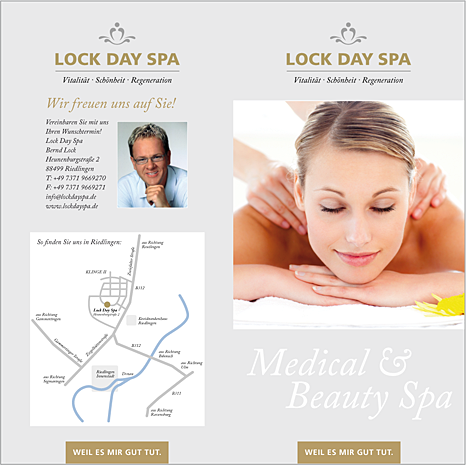 Flyer Lock Day Spa