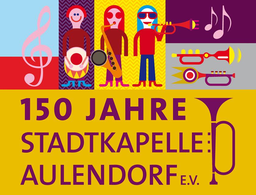 Erscheinungsbild 150 Jahre Stadtkapelle Aulendorf e.V.