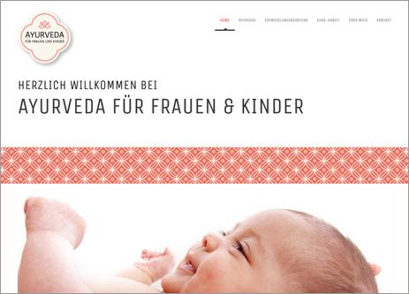 Homepage Ayurveda Frauen und Kinder