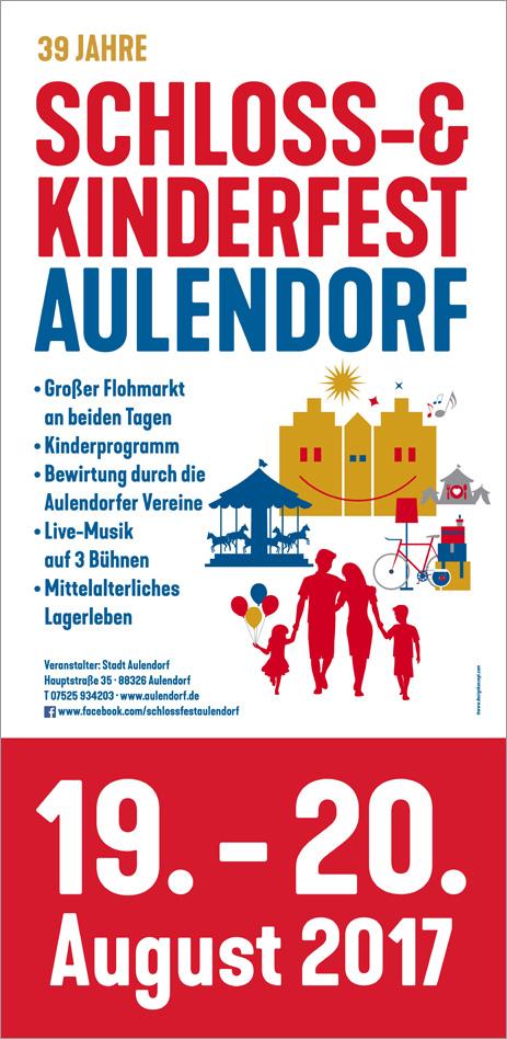 Plakat Schloss-& Kinderfest