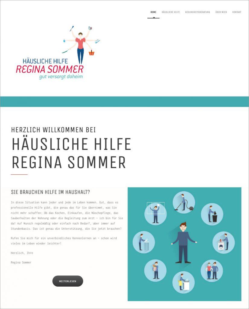 Homepage Regina Sommer