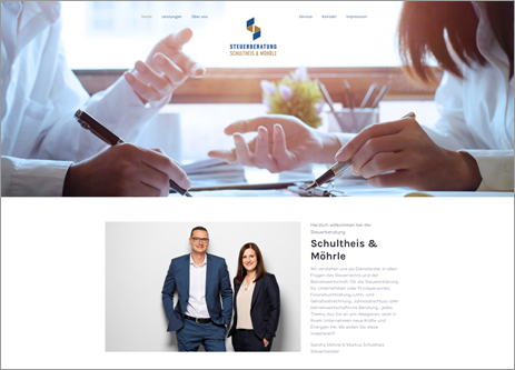 Homepage Schultheis & Möhrle