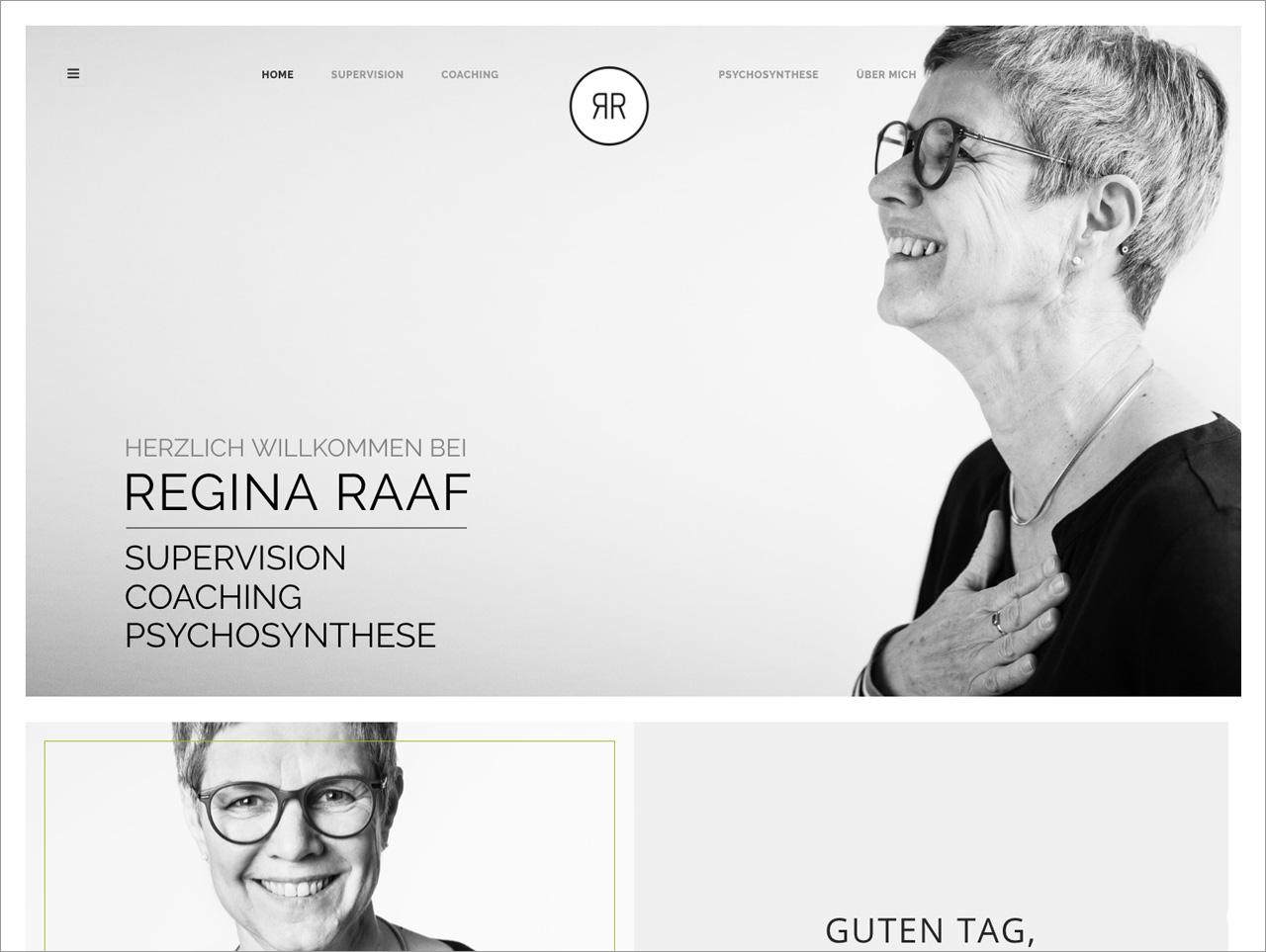 Homepage Regina Raaf